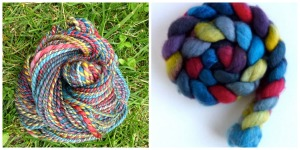 Three Waters Farm Colorway: Honor Guard Fiber: BFL Ply: 2Ply Worsted Spun Finished Yarn: