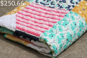Quilt with Price